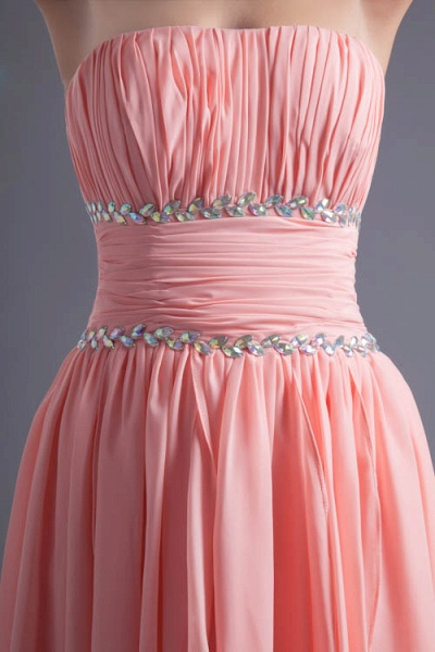 Excellent Sweetheart Chiffon A-line Bridesmaid Dress_7