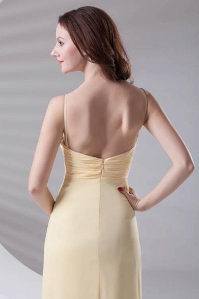 LILIANNA | A-line Spaghetti-Straps Floor Length Chiffon Bridesmaid Dresses_8