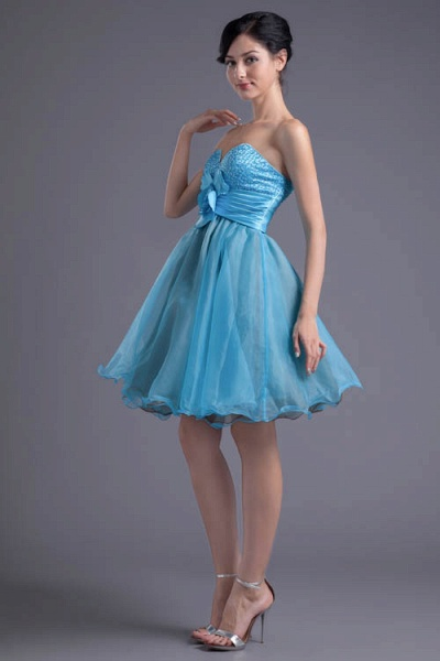 Best Strapless Chiffon A-line Bridesmaid Dress_4