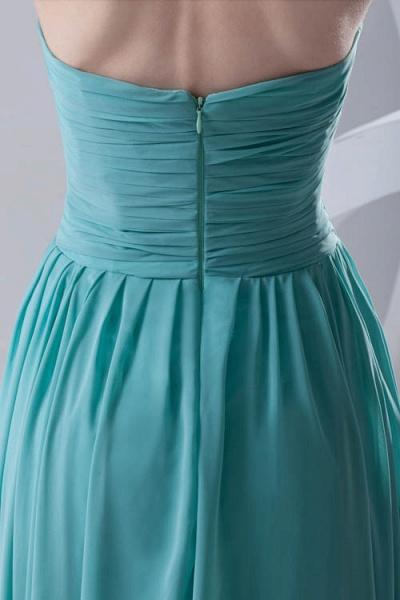 Amazing Strapless Chiffon A-line Bridesmaid Dress_8