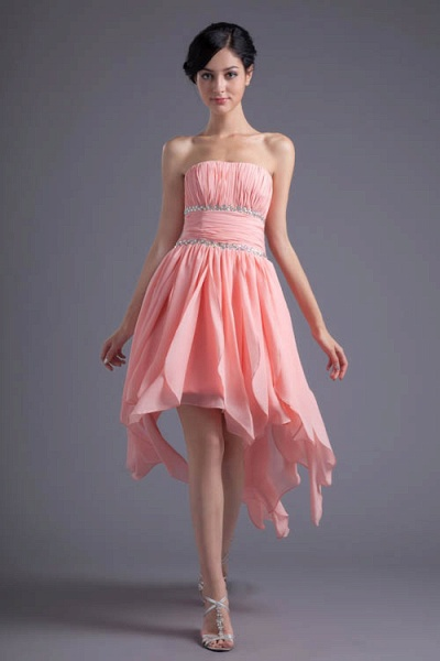 Excellent Sweetheart Chiffon A-line Bridesmaid Dress_5