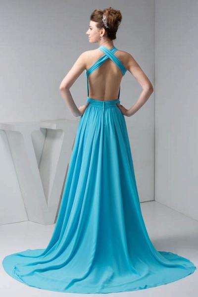 Excellent Halter Chiffon Princess Evening Dress_7