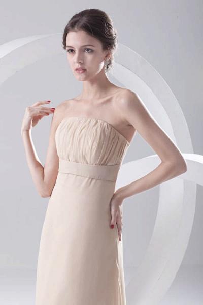 LILIA | A-line High-Low Sleeveless Chiffon Bridesmaid Dresses_4