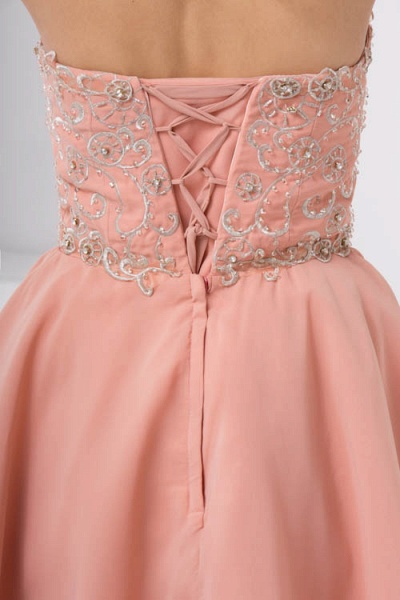 Awesome Strapless Chiffon A-line Bridesmaid Dress_6