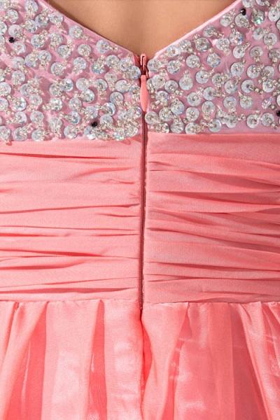 Attractive Straps Chiffon A-line Bridesmaid Dress_9