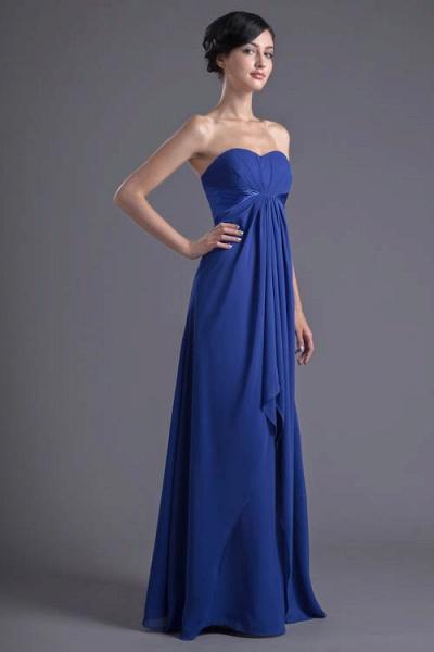 Precious Sweetheart Chiffon A-line Bridesmaid Dress_3