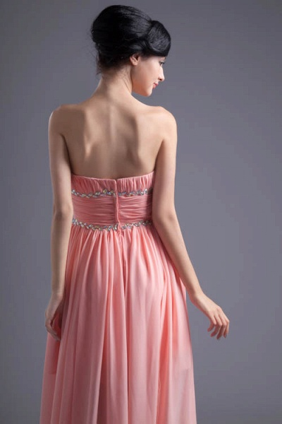 Excellent Sweetheart Chiffon A-line Bridesmaid Dress_3