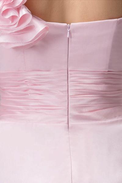 Amazing One Shoulder Chiffon Column Evening Dress_9