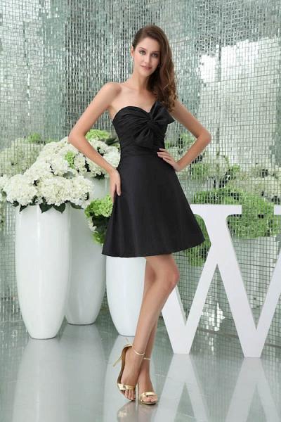 Sleek Sweetheart Satin A-line Bridesmaid Dress_6
