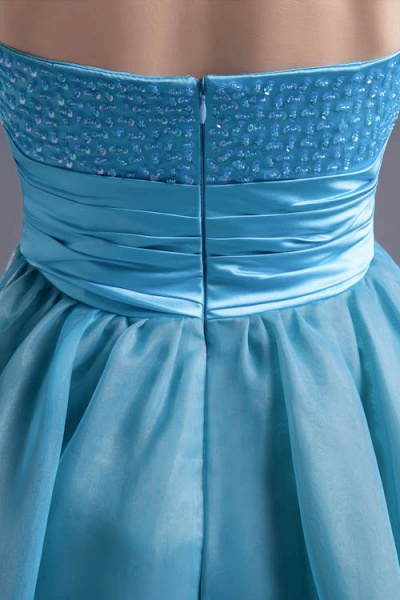 Best Strapless Chiffon A-line Bridesmaid Dress_7