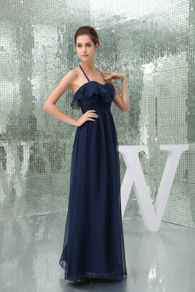 Awesome Sweetheart Chiffon A-line Bridesmaid Dress_5