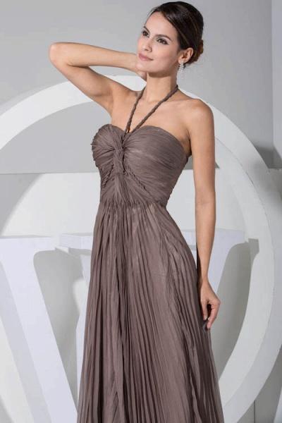 Excellent Halter Chiffon A-line Bridesmaid Dress_6
