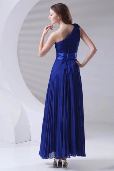 LILIANA | A-line One Shoulder Floor Length Chiffon Bridesmaid Dresses_3