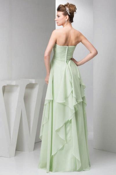 Marvelous Strapless Chiffon Princess Evening Dress_7