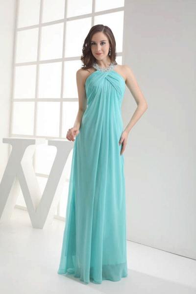 Strapless Column Ankle Length Bridesmaid Dress_4