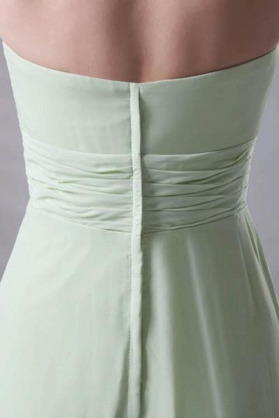 Fascinating Straps Chiffon A-line Bridesmaid Dress_5