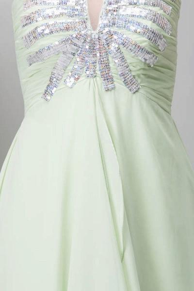 Marvelous Strapless Chiffon Princess Evening Dress_8
