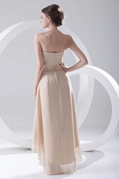 LILIA | A-line High-Low Sleeveless Chiffon Bridesmaid Dresses_3