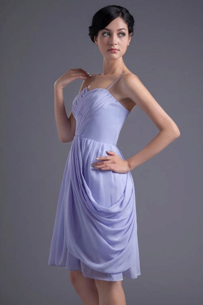 Fascinating Sweetheart Chiffon A-line Bridesmaid Dress_7