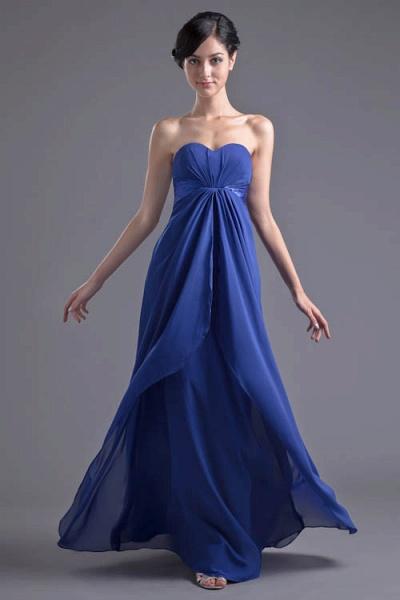 Precious Sweetheart Chiffon A-line Bridesmaid Dress_1