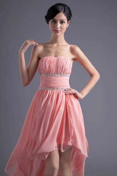 Excellent Sweetheart Chiffon A-line Bridesmaid Dress_6