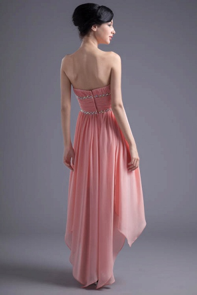 Excellent Sweetheart Chiffon A-line Bridesmaid Dress_8