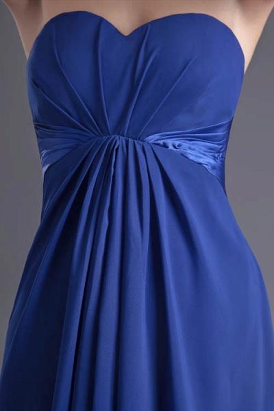 Precious Sweetheart Chiffon A-line Bridesmaid Dress_6
