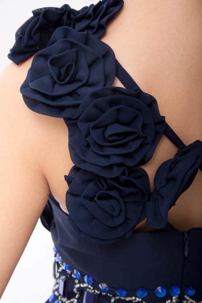 Fascinating One Shoulder Chiffon A-line Bridesmaid Dress_5