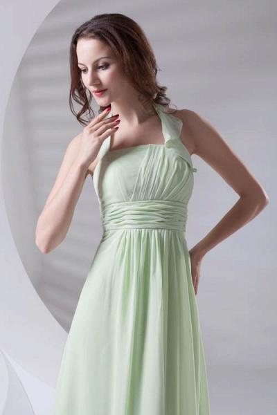 Fascinating Straps Chiffon A-line Bridesmaid Dress_9