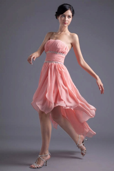 Excellent Sweetheart Chiffon A-line Bridesmaid Dress_1