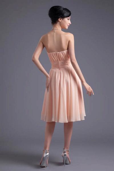 Awesome Strapless Chiffon A-line Bridesmaid Dress_3