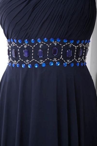 Fascinating One Shoulder Chiffon A-line Bridesmaid Dress_9