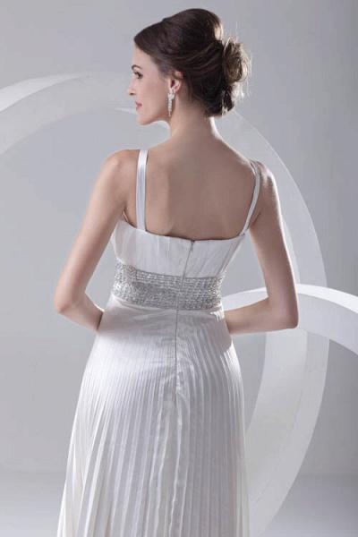 Beautiful V-neck Chiffon A-line Bridesmaid Dress_6