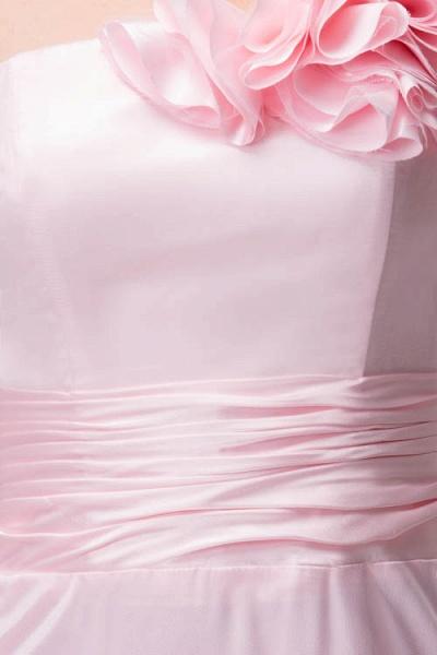 Amazing One Shoulder Chiffon Column Evening Dress_8