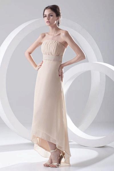 LILIA | A-line High-Low Sleeveless Chiffon Bridesmaid Dresses_5