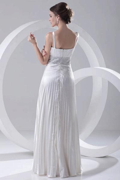 Beautiful V-neck Chiffon A-line Bridesmaid Dress_3