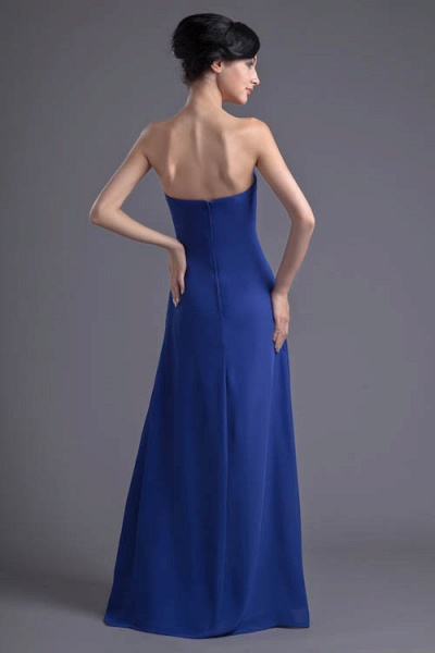 Precious Sweetheart Chiffon A-line Bridesmaid Dress_7