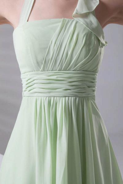 Fascinating Straps Chiffon A-line Bridesmaid Dress_6