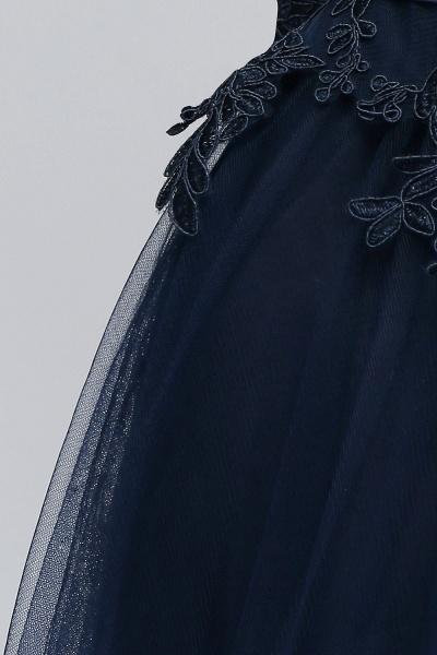 Sleek Jewel Tulle A-line Evening Dress_12