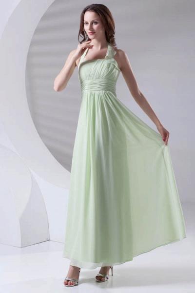 Fascinating Straps Chiffon A-line Bridesmaid Dress_8