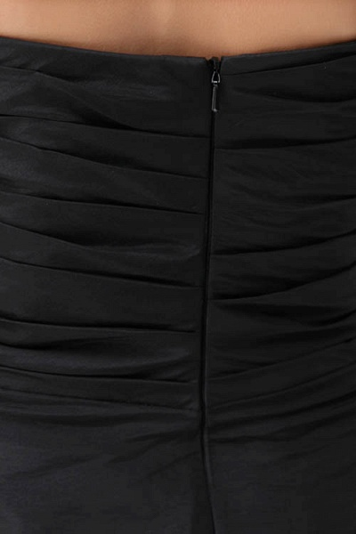 Sleek Sweetheart Satin A-line Bridesmaid Dress_4