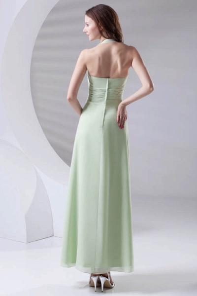 Fascinating Straps Chiffon A-line Bridesmaid Dress_3