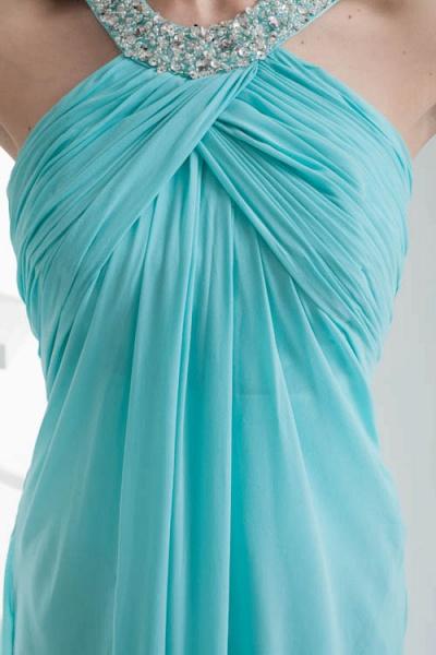 Strapless Column Ankle Length Bridesmaid Dress_9