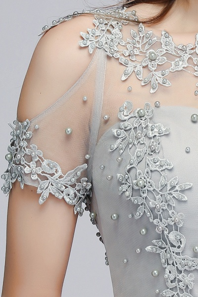 Fabulous Jewel Chiffon A-line Prom Dress_12