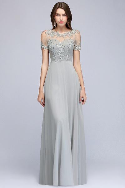 Fabulous Jewel Chiffon A-line Prom Dress_13