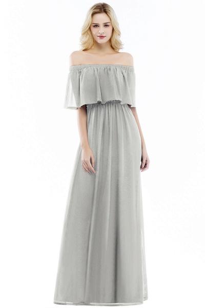 Chic Bateau Chiffon A-line Evening Dress_3