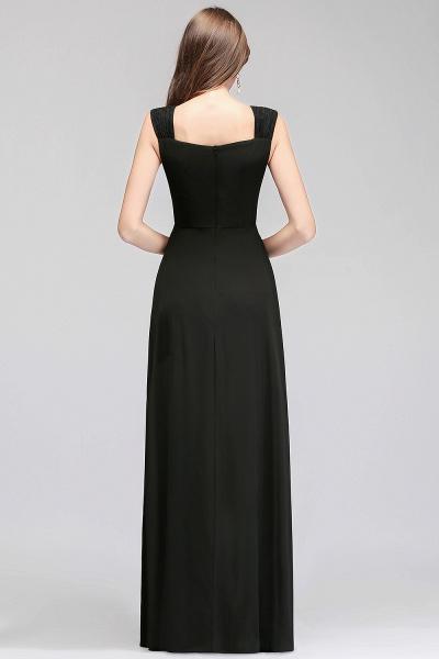 MAGDALEN | A-line Floor Length Sleeveless Ruffled Chiffon Bridesmaid Dresses_3