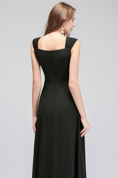 MAGDALEN | A-line Floor Length Sleeveless Ruffled Chiffon Bridesmaid Dresses_8