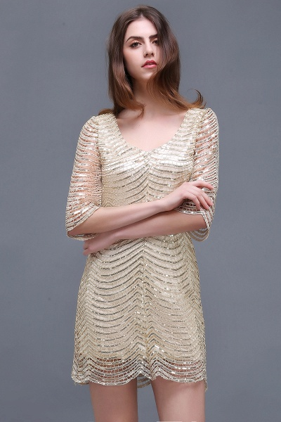 Black Long Sleeve Short Casual Dress