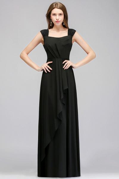 MAGDALEN | A-line Floor Length Sleeveless Ruffled Chiffon Bridesmaid Dresses_1